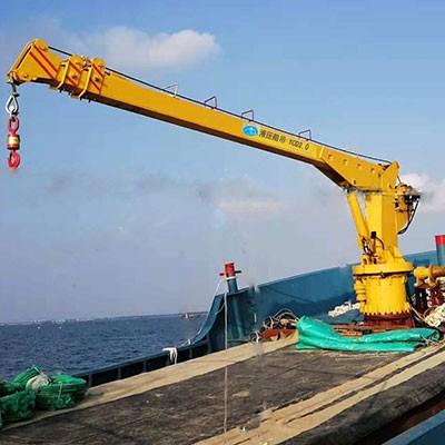船用起重机配置液压绞车